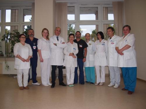 Коллектив отделения травматологии и ортопедии
